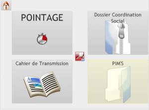 Affichage montrant les différents outils professionnels