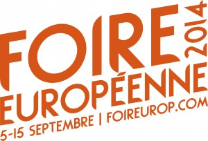 Logo de la foire européenne 2014