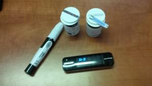 Le glucomètre fait partie de nos outils de mesure pour suivre efficacement le diabète.
