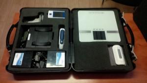 Les produits télésanté sont livrés dans une mallette avec les outils nécessaires pour un suivi efficace
